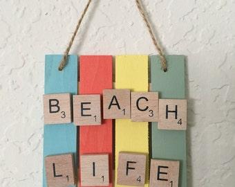 Beach Life Sign