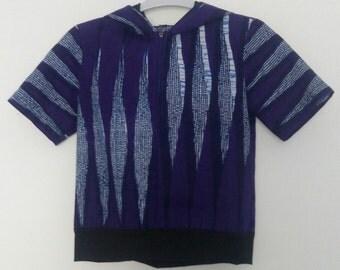 Top unisex Sweatshirt Hoodie, purple style