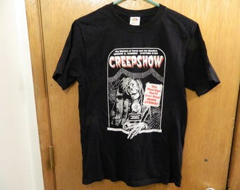 Vintage Creepshow T-Shirt George A. Romero Stephen King Small