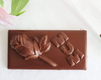 Mothers Day Vegan Chocolate Bar  (Gluten & Soya Free), Mothers Day gift.