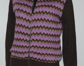 Cardigan vintage STEFANEL zippé Taille 38-40 FR