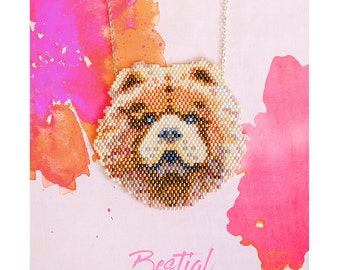 Necklace Chow chow   —   It's show show time !