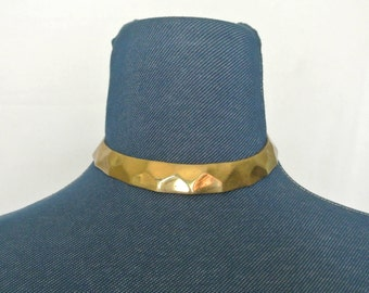Gorgeous Hand Made Brass Choker