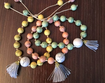 Bracelet, Handmade, Greek jewelry, Made in Greece, Boho bracelet, Hippie bracelet, Beaded bracelet, Bohemian style,  Chaolite beads,