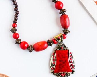SANVAAR NECKLACE | boho chic choker bollywood inspired pakistan indian jewellery