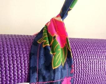 Adjustable Yoga Mat Strap, Yoga Mat Sling, Pilates Mat Sling, Pilates Mat Strap, Yoga Pilates Mat Towel Carrier, Universal, Japanese, Floral
