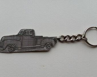 Pickup Truck Keychain