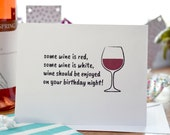Birthday Card Wine Lover ...