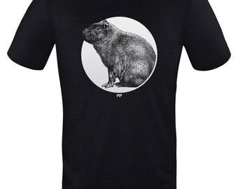 Capybara - Unisex T Shirt - By Mythical Forces
