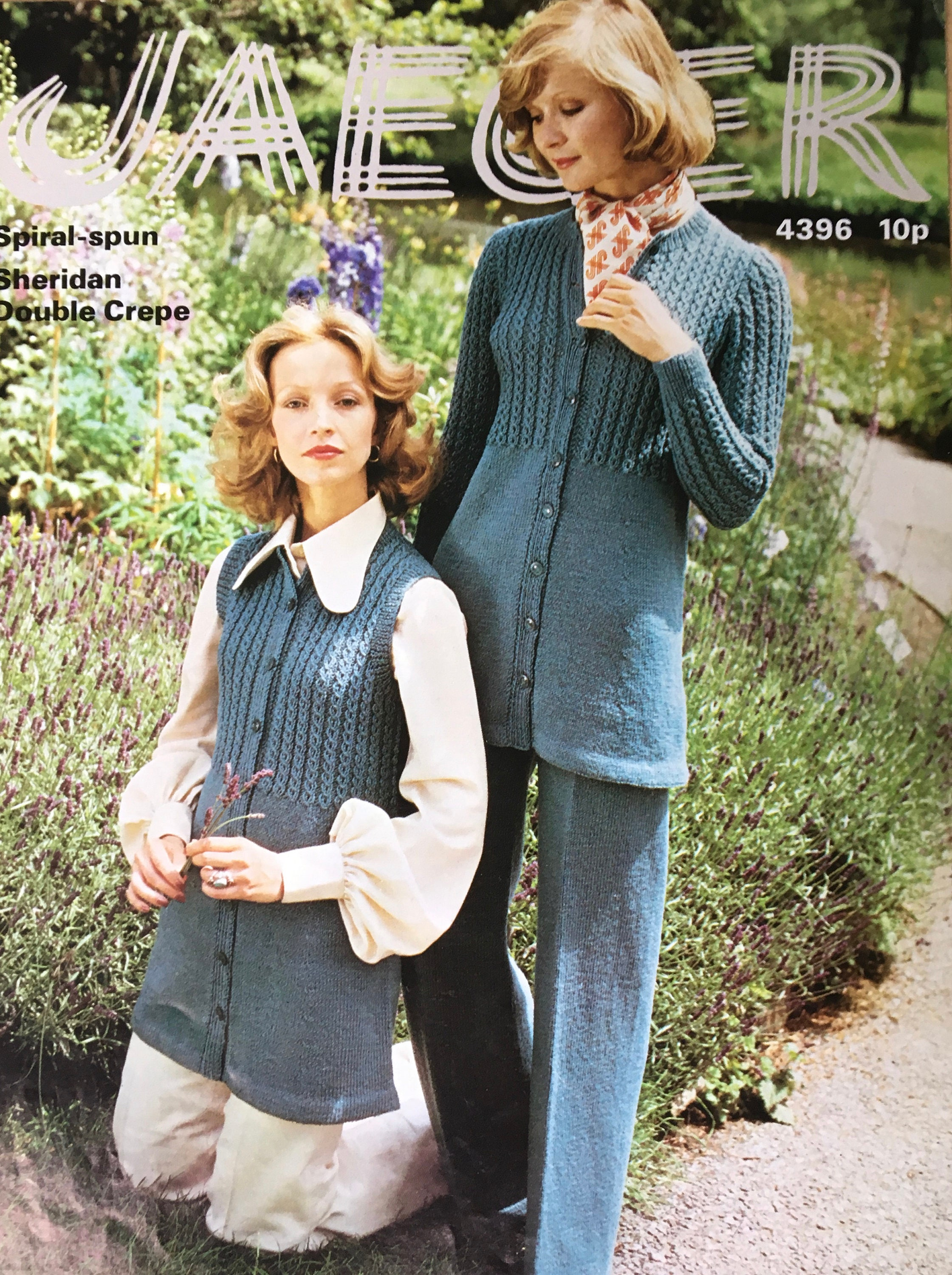 Ladies knitting pattern jaeger vintage knitting pattern ladies 572 shipping bankloansurffo Images