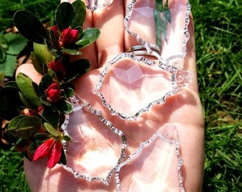 Filigree Crystal Quartz Deco - 1 Small - Amplified Energy, Manifest, Open Mind to Higher Guidance, Protective Force.