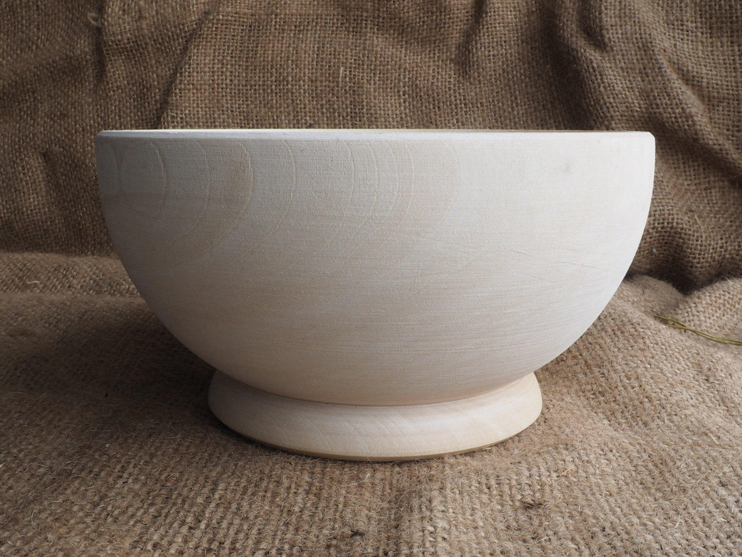 Wood bowl salad wooden serving candy blank