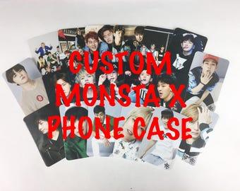 CUSTOM Monsta X Kpop Phone Case