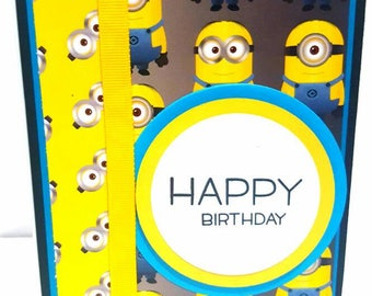 Minions Birthday Card 2