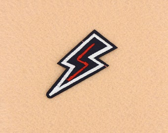 Lightning Patch Iron on Patch DIY Patch Embroidered Patch Applique Embroidery 2.5x6.5cm