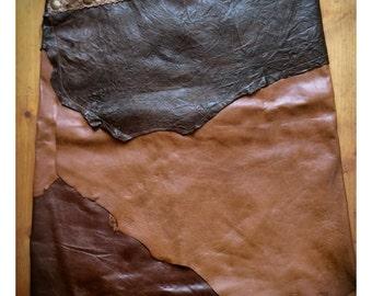 Leather skirt basic