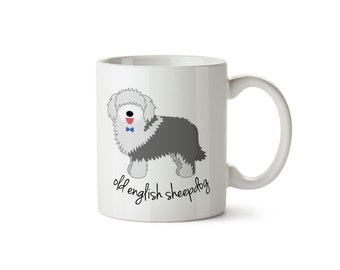 Old English Sheepdog Mug (boy)