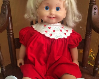 """Vintage Cricket Doll,1985,playmates,25"""" Works, Vintage Dolls, Toys and Games, Home and living, animated Dolls, Collectibles"""