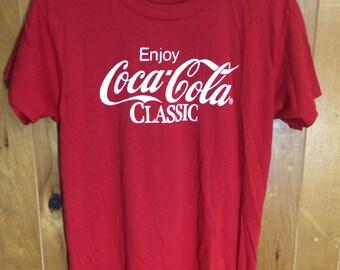 Vintage 1980's Coca Cola T-Shirt