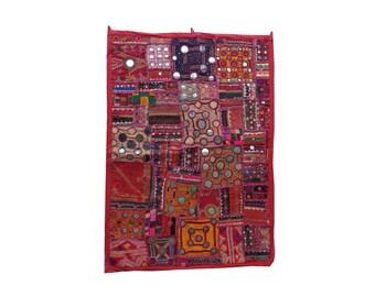 vintage banjara patchwork tapestries