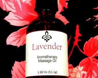 Natural Massage Oil - Free Domestic Shipping - 1.80 Oz - Light Oil
