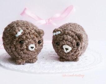 Crochet bear amigurumi crochet toy, crochet plush bear, crochet stuffed animal, crochet plush toy, crochet animals, crochet soft toys