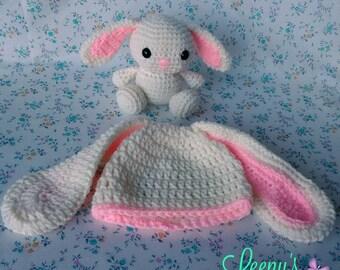 Easter Bunny Hat and Amigurumi Set