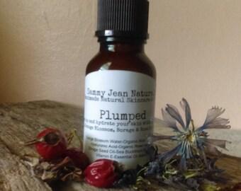 Anti-Age Hyaluronic Serum/Hyaluronic Acid/Orange Blossom Water/Organic Aloe Vera/Rosehip Seed Oil/Borage Seed Oil/Vitamin E/Sea Buckthorn