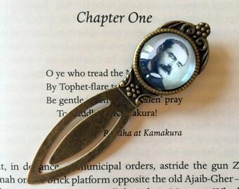 Rudyard Kipling Bookmark - Kipling Bookmark, Rudyard Kipling Gift, The Jungle Book Gift, Gunga Din Bookmark, Poetry Bookmark, Literary Gift