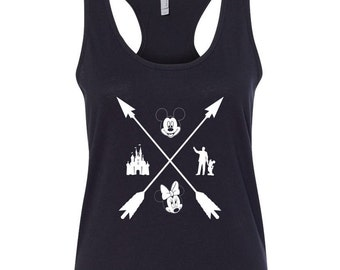 Disney Tank Top // Mickey Mouse Tank Top // Disney Shirts // Disney Family Shirt