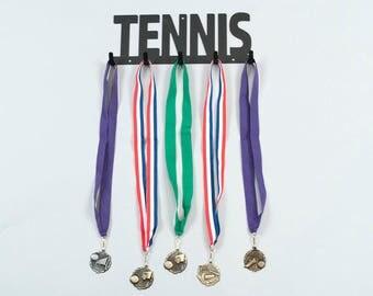 Tennis Medal Holder, Tennis Medal Display, Tennis Medal Hanger, Medal Holder, Medal Display, Tennis Gift Idea, Tennis Gifts