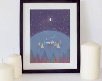 Goodnight moon | Etsy