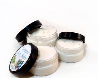 Brown Sugar and Fig Body Butter - Vegan - Whipped Shea Butter,  Avocado, Apricot Oils, Aloe Vera, Preservative Free - Whipped Body Butter