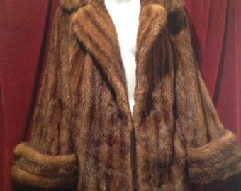 1940's Real Fur Jacket / MINK - SALE  SALWas 275.00 now 215.00