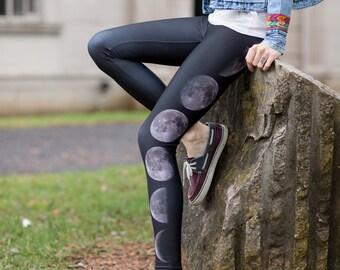 Moon Phase Yoga Pants Leggings
