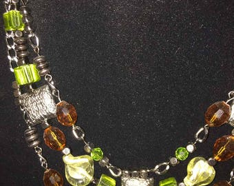 Green Trees Necklace