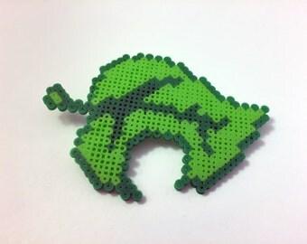 Animal Crossing Leaf - Mini Perler Beads