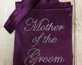 High Quality! Mother Of The Bride/ Mother Of The Groom Robe Bridal Shower, Bride To Be, Bachelorette, Bridesmaid, Bridal Party