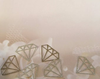 "1.25"" Wedding Confetti| Engagement Confetti|Wedding| Bridal Shower| Table Decor| Scrapbooking"