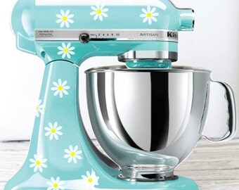 Daisy Kitchen Mixer Decals