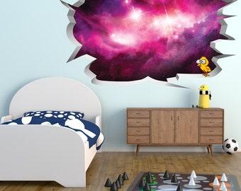 Nebula Wall Hole Print