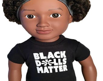 18″ doll T-shirt (white)