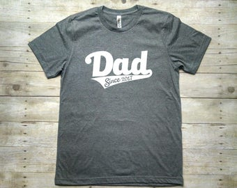 Fathers Day Gift, Present for Dad, Dad Since Shirt