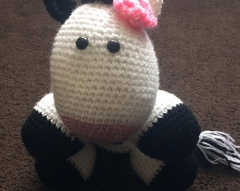 Crochet Friesian Cow