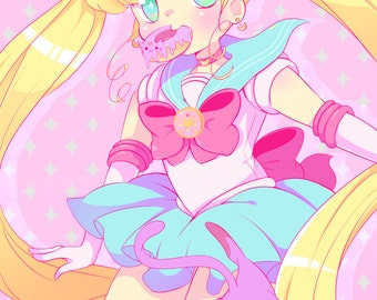 Sailor Moon 11x17 print