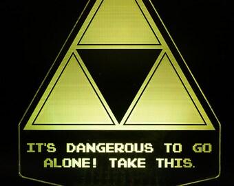 Zelda Triforce LED Light Display