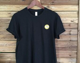 Snoppy Peanuts Patch Tee Camiseta Parche MahaloVintage California