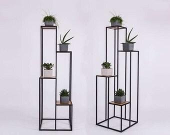Bookshelf | Bookcase | Flower stand - TONA modern design - SparkCraft