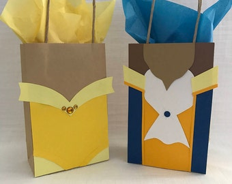 Beauty and the Beast party bags