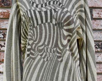 Vintage 1980s Swirly Italian Sweater